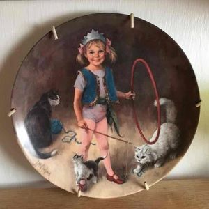 VTG Collector Plate Maggi Animal Trainer